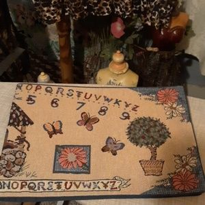 none Kitchen - Victorian alphabet tapestry Runner